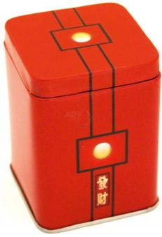 Teedose Red Sun aus Metall -200 g
