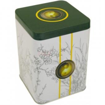 Teedose Garden Yin aus Metall -200 g