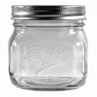 2er Set BALL Mason Jar Wide Mouth ELITE COLLECTION  475 ml