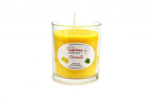 (8,95€/Stk) Candle Factory Party Light Duft Windlicht 100% Stearin Citronella