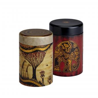2er Set Metall Teedosen Africa by EIGENart - 125 g